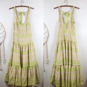Anthropologie Tracy Reese Embroidered Gown